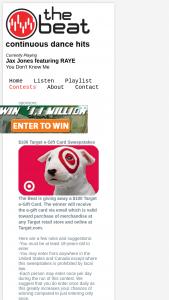 Beat Target Sweepstakes – Win A$100 Target EGift Card