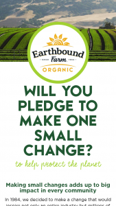 Earthbound Farm – Ebf Earth Month – Win an Earthbound Farm Organic goodie bag