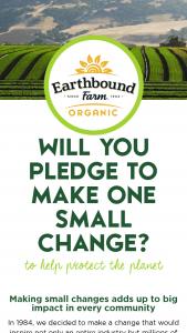 Earthbound Farm – Ebf Earth Month – Win an Earthbound Farm Organic goodie bag
