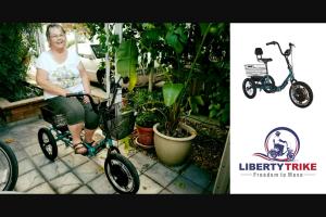 Electric Bike – Liberty Trike Sweepstakes