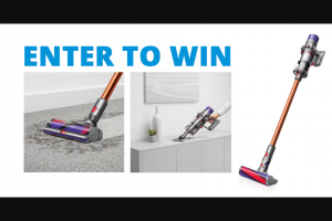 Enter – Win A Dyson Cyclone V10 Absolute Vacuum Cleaners Worth $700 3 Winners