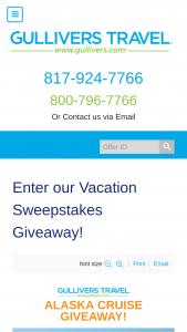 Enter – Win A 7night Alaska Cruise From Holland America Line