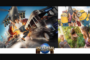 EXTRATV – Win 1 of 13 grand prizes of a trip for 2 to Universal Orlando Resort in Orlando valued at $2,174 each