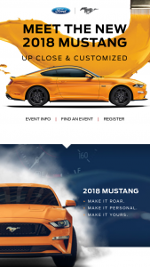 Ford Motor Company – Mustang Unique And United – Win the amount of $10000.