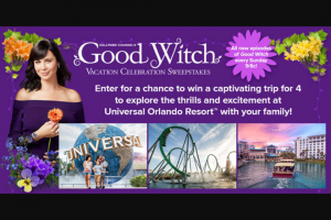 Hallmark Channel – Good Witch Vacation Celebration – Win a four day