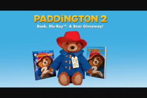 Harpercollins – Childrens Paddington 2 DVD  Bear Book – Win $80.98 Total estimated retail value of all prizes $809.80
