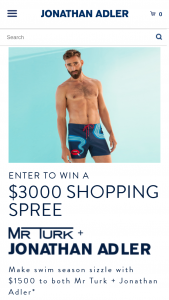Jonathan Adler – Ja  Mr Turk – Win (a) one shopping spree to Jonathan Adler