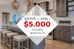 Kitchen Cabinet Kings – Free Kitchen Makeover – Win a set of kitchen cabinets valued up to $5000.