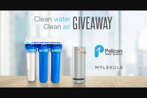 Pelican Water – Lemi Shine Giveaway Sweepstakes