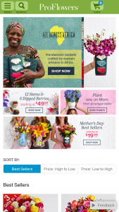 Proflowers – Win Mom A Year Of Flowers Sweepstakes