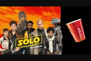Solo Cup – 'epic Solobration' – Win four tickets to attend the world premiere event of the Picture in the Los Angeles