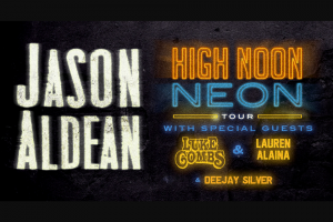 This Is Hit – Jason Aldean High Noon Neon Flyaway Sweepstakes