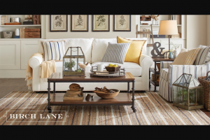 Wayfair – Birch Lane And Stonewall Kitchen Happy Home – Win (i) Birch Lane gift card(s) with a total retail value of $1000 USD