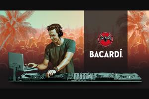 Bacardi – Summer Mix Sweepstakes