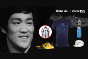 Bruce Lee – Bodyarmor Sportwater Be Water Sweepstakes