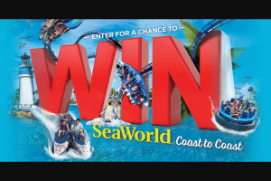 Coca-Cola And Seaworld – Regal Cinemas – Win 3 trips for winner and 3 guests