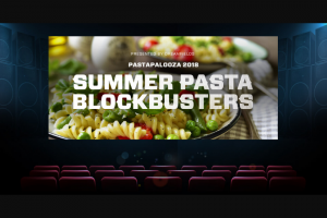 Dreamfields Pasta – Pastapalooza 2018 – Win cases of pasta  $1000 VISA gift card 1 $1350 TOTAL 17 $4152