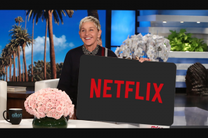 Ellen – 5-year Subscription To Netflix Sweepstakes
