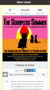 Enter – Win A LitterRobot III With Connect Litter Box 13 Winners