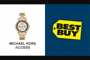 Enter – Win A Michael Kors Smart Watch  From Ellen And BestBuy
