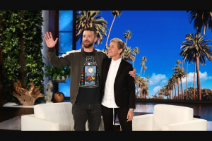 Enter – Win A Pair Of Tickets To See Justin Timberlake On Tour From Ellen Degeneres