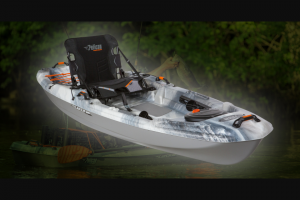 Enter – Win A Pelican Premium Catch 100 Fishing Kayak Valued At $650