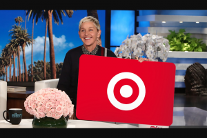 Enter – Win A $150 Target Gift Card From Ellen