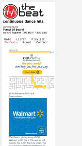 Enter – Win A $250 Walmart Gift Card