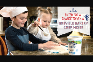 Enter – Win ABreville Bakery Chef Mixer Valued At $399