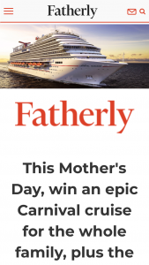 Fatherly Epic Mothers Day Cruise Sweepstakes – Win An8day Cruise For Four And Some Edible Arrangements To Celebrate Mom