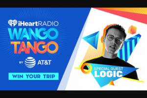 "Iheart Media – Logic It Takes 2 To Wango Tango At Our ""iheartradio Wango Tango By AT&T"" – Win a trip two (2) to Los Angeles for Wango Tango"