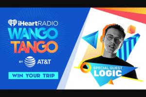 "Iheart Media – Logic It Takes 2 To Wango Tango At Our ""iheartradio Wango Tango By AT&T"" – Win a trip two (2) to Los Angeles for Wango Tango"