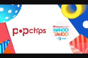 Iheart Media – Popchips 2018 Iheartradio Wango Tango – Win include the following   A trip for two (2) to Los Angeles CA from June 1 2018 to June 3 2018 to Wango Tango on June 2 2018.