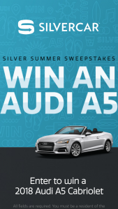 Silvercar – Silver Summer – Win a prize