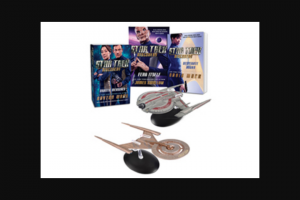 Simon & Schuster – Star Trek Discovery Starships Sweepstakes