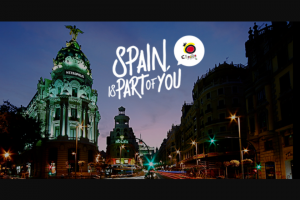 Tourist Office Of Spain In New York – Spain Is A Part Of You Sweepstakes
