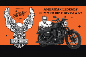 William Grant & Sons – Sailor Jerry Spiced Rum American Legends Bike Giveaway 2018 Sweepstakes