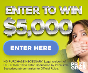 Prize Grab – Win a $500 cash prize
