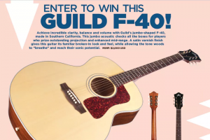 Acoustic Guitar – Guild F-40 Sweepstakes