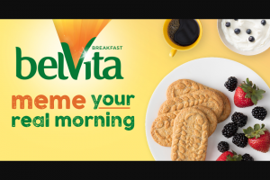 "Belvita – ""breakfast For Your Morning"" Meme Sweepstakes"