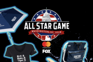 Discovery – Shark Week  MLB Network – Win for the winner and one (1) guest to attend the 2018 Major League Baseball All-Star Game in Washington DC July 17 2018.