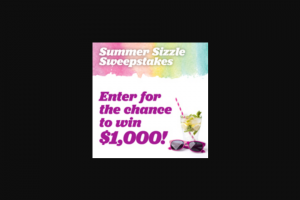 Eating Well – Summer Sizzle – Win (1) Prize includes $1000 USD awarded in the form of a check