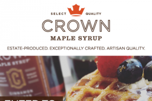 Enter Crown Maple Syrups Giveaway – Win 1 Of 3 Mini Waffle Kits Prize Includes A Mini Waffle Maker, Regular And Cinnamon Infused Maple Syrup, And A Sugar Pancake Mix