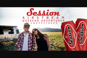 Full Sail Brewing – Session Airstream Weekend Adventurer Text To Win – Win a $2000 Airstream Weekend Adventure Package voucher