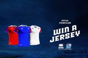 new concept 145d2 7cd27 Win one (1) official Iceland soccer jersey.   GiveawayUS.com