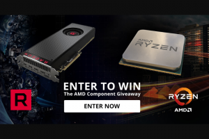Pcgamer – Amd's Component Giveaway – Win one prize bundle including the two giveaway items