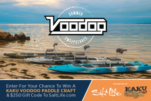 Salt Life – Summer Kayak – Win and 00/100 Dollars (ARV $1449.00).