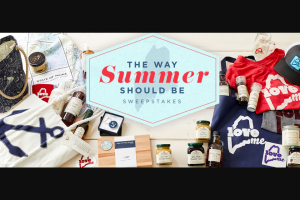 Sea Bags And Stonewall Kitchen – The Way Summer Should Be – Win will be selected