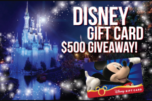 SmartStop Self Storage Disney Gift Card Sweepstakes – Win A $500 Disney Gift Card