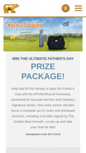 Suncast – #perfectround Us Open Giveaway Sweepstakes